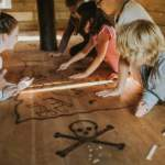 Childrens Pirate ship parties in Dorset at Snowtrax