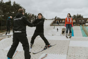 Learn to ski in Dorset at Snowtrax