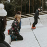 Snowboard lessons in Dorset at Snowtrax