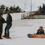 Learn to Snowboard in Dorset at Snowtrax