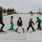 Childrens ski lessons in Dorset at Snowtrax