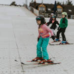 Kids ski lessons in Dorset at Snowtrax