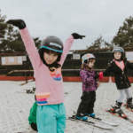 Childrens ski lessons at Snowtrax in Christchurch Dorset