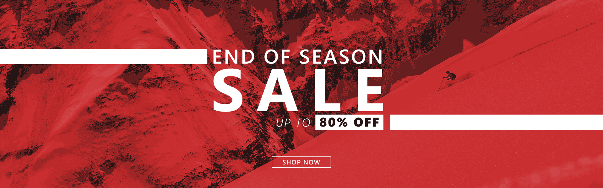 End Of Season Sale on ski and snowboard equipment at Snowtrax in Dorset